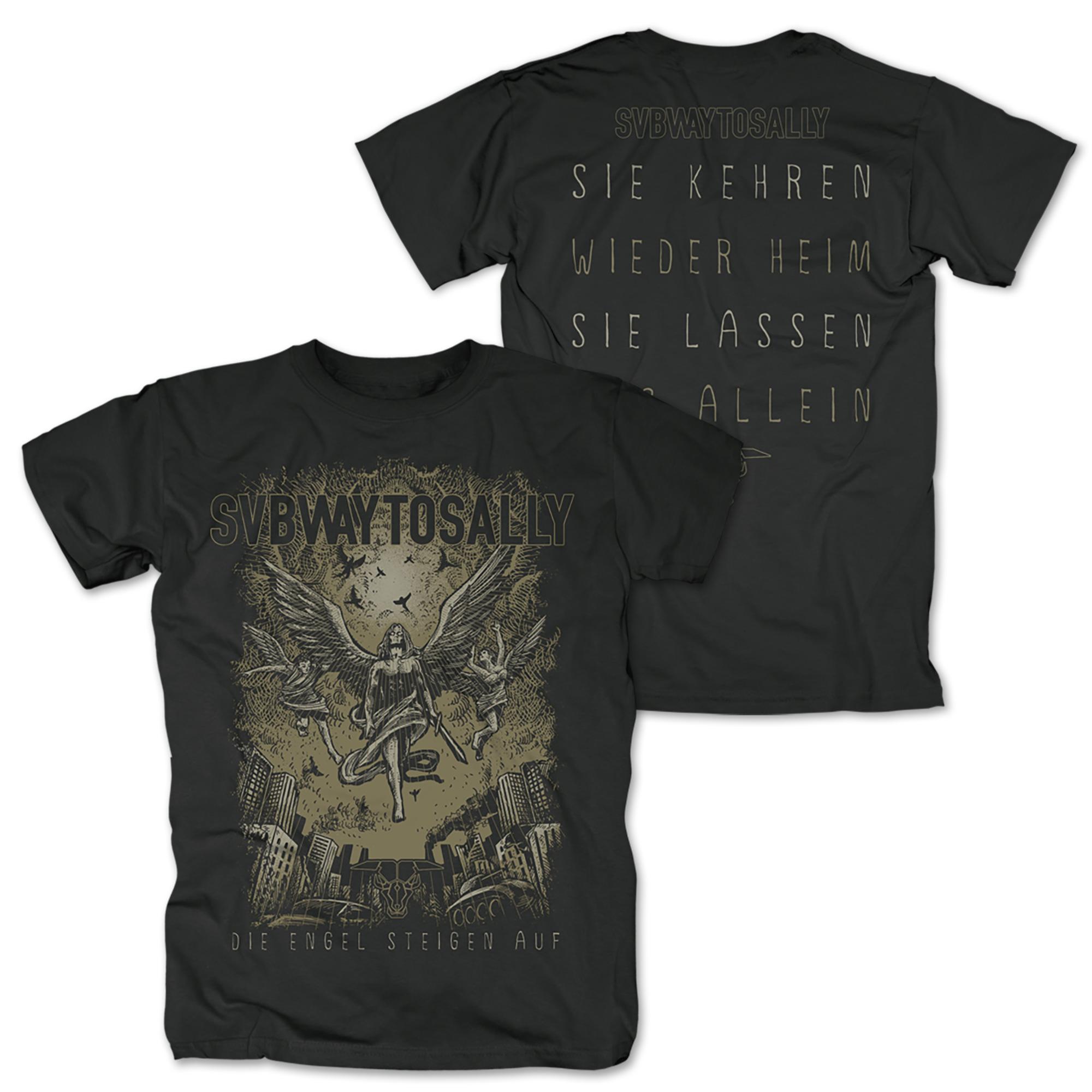 Die Engel Steigen Auf T-shirt Subway To Sally Shirts & Hemden