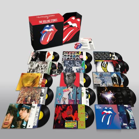 The Rolling Stones: Studio Albums Vinyl Collection 1971 - 2016 von The Rolling Stones - LP jetzt im Subway To Sally Shop