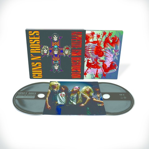 Appetite For Destruction - 2CD Deluxe Edition (Ltd. Edition) von Guns N' Roses - CD jetzt im Subway To Sally Shop