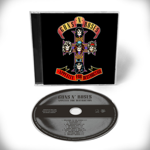Appetite For Destruction - 1CD Remaster von Guns N' Roses - CD jetzt im Subway To Sally Shop