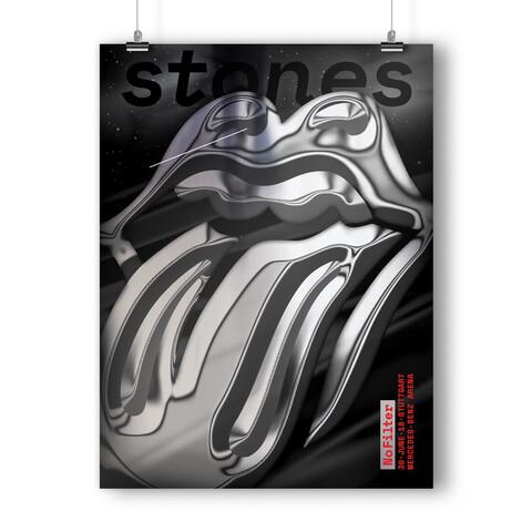 √No Filter 2018 Stuttgart von The Rolling Stones - Kunstdruck jetzt im Subway To Sally Shop
