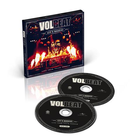 √Let's Boogie! Live from Telia Parken (2CD) von Volbeat - CD jetzt im Subway To Sally Shop