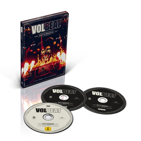 Let's Boogie! Live from Telia Parken (2CD + DVD) von Volbeat - CD jetzt im Subway To Sally Shop