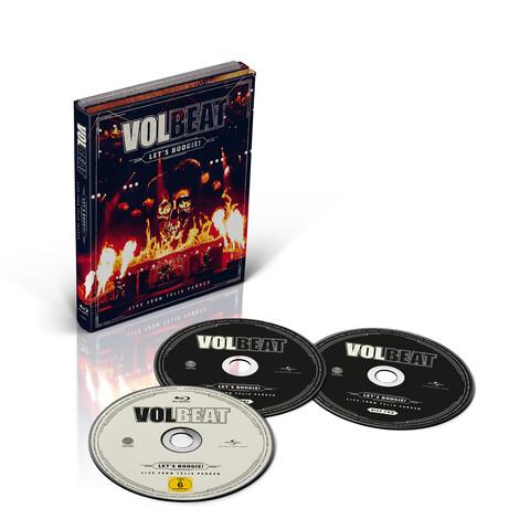 √Let's Boogie! Live from Telia Parken (2CD + BD) von Volbeat - CD jetzt im Subway To Sally Shop