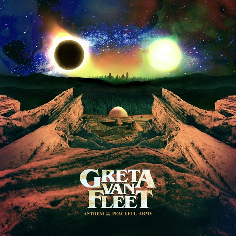 Anthem of the Peaceful Army von Greta Van Fleet - CD jetzt im Subway To Sally Shop
