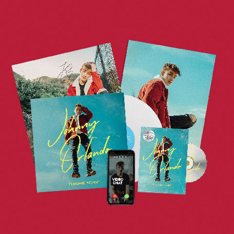 Teenage Fever (Fan Streaming Bundle) von Johnny Orlando - LP jetzt im Subway To Sally Shop
