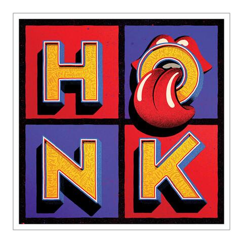 √Honk von The Rolling Stones - Kunstdruck jetzt im Subway To Sally Shop