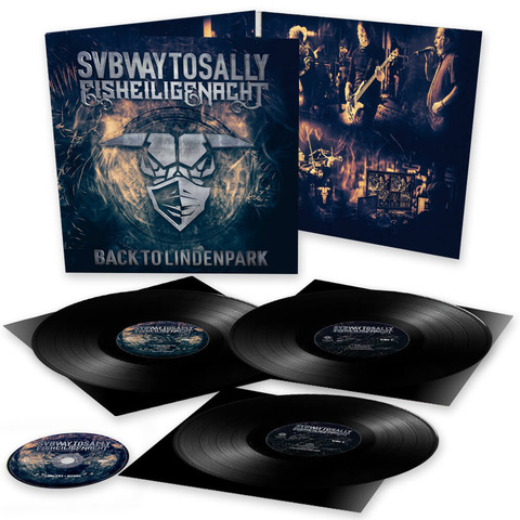 √Eisheilige Nacht: Back To Lindenpark (3LP Gatefold + DVD) von Subway To Sally - 3LP + DVD jetzt im Subway To Sally Shop