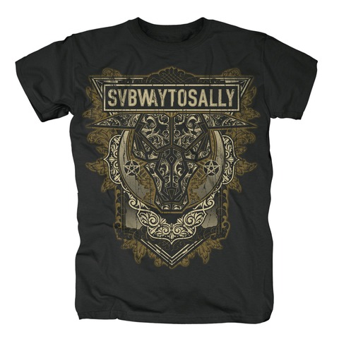 √Flourish von Subway To Sally - T-shirt jetzt im Subway To Sally Shop