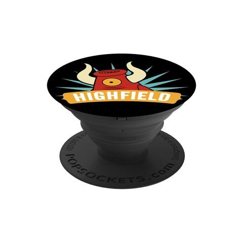 √Mascot Logo von Highfield Festival - Pop Socket jetzt im Subway To Sally Shop