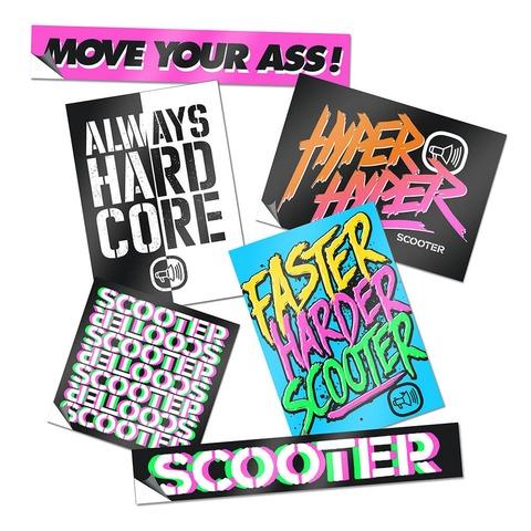 √Scooter von Scooter - Stickerset jetzt im Subway To Sally Shop