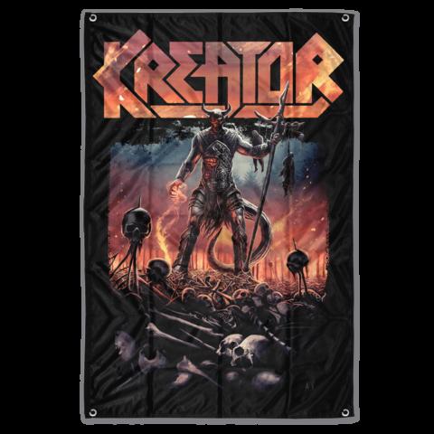 √Warrior von Kreator - Poster Flag jetzt im Subway To Sally Shop