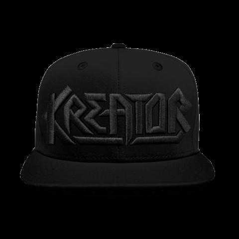 √Black on Black Logo von Kreator - Cap jetzt im Subway To Sally Shop