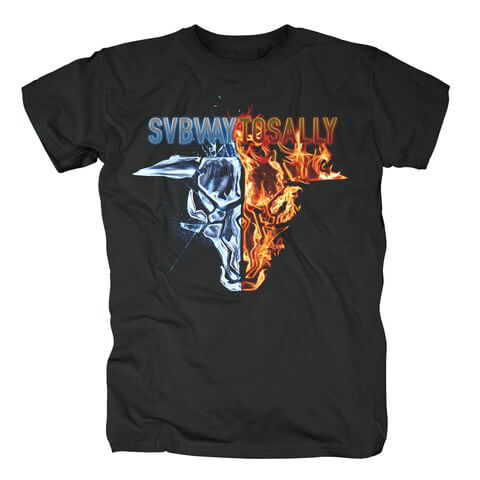 √Fire and Ice von Subway To Sally - T-Shirt jetzt im Subway To Sally Shop