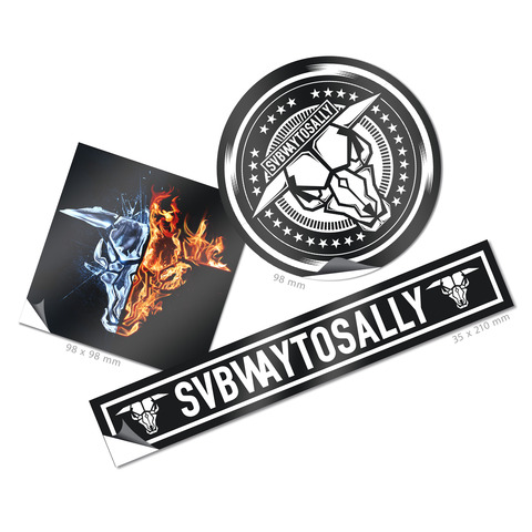 √Subway To Sally von Subway To Sally - 3er Sticker Set jetzt im Subway To Sally Shop