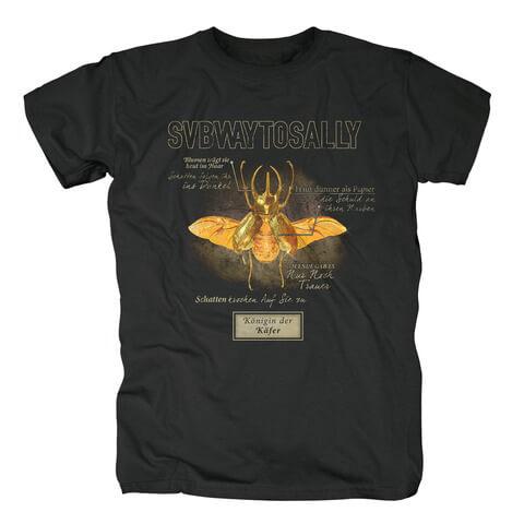 √Königin der Käfer von Subway To Sally - T-Shirt jetzt im Subway To Sally Shop