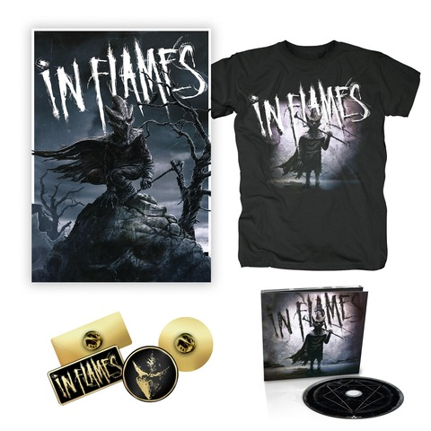 I am the Mask - Bundle von In Flames - CD, Pin-Set, Poster, T-Shirt jetzt im Subway To Sally Shop