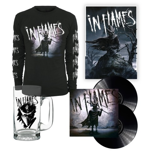 I am the Mask - Bundle von In Flames - Vinyl, Longsleeve, Bierglas, Poster jetzt im Subway To Sally Shop