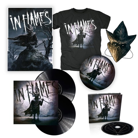 I am the Mask - Bundle von In Flames - Vinyl+CD,Poster,Shirt,Maske,Drumfell jetzt im Subway To Sally Shop