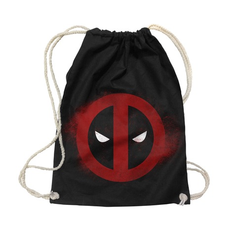 Bloody Logo von Deadpool - Gym Bag jetzt im Subway To Sally Shop
