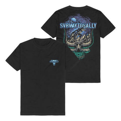 The Night Anthem von Subway To Sally - T-Shirt jetzt im Subway To Sally Shop