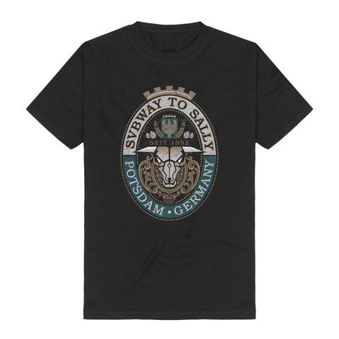 √Stier-Bier von Subway To Sally - t-shirt jetzt im Subway To Sally Shop