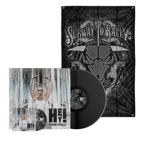 √HEY! (Bundle LP/CD - Limited Vinyl Edition + Flagge) von Subway To Sally - LP jetzt im Subway To Sally Shop